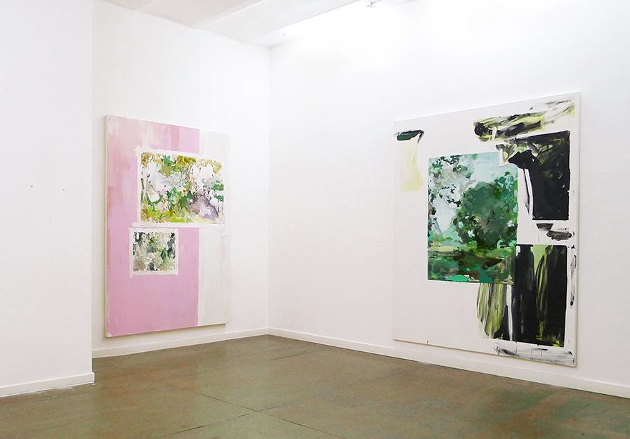 Nina Kluth Ausstellung bei Holger Priess Hamburg 2012