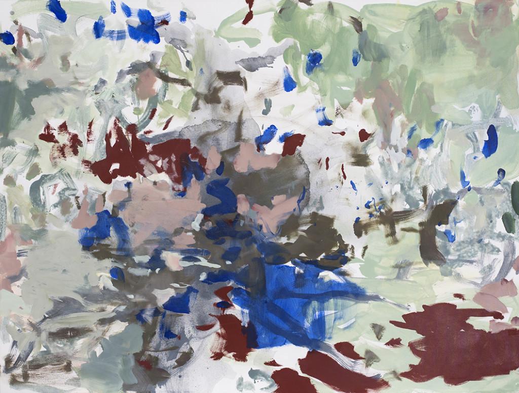 Blankenfelde_2019_150 x 200 cm_Acryl und Öl auf Nessel